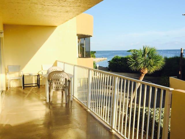 Beautiful 2 bedroom oceanfront condo in paradise