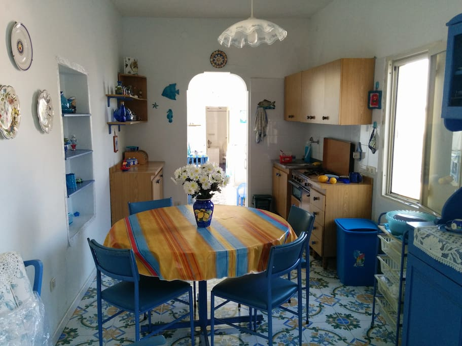 Cucina soggiorno