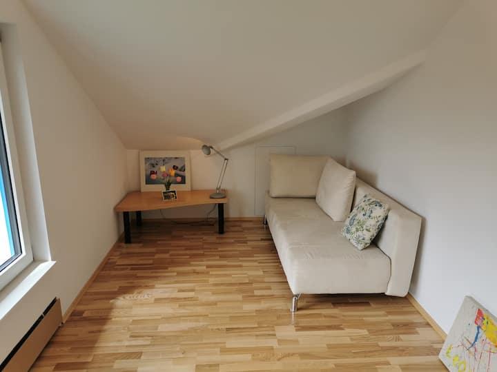 40 sm studio with Alpenview, very quiet.