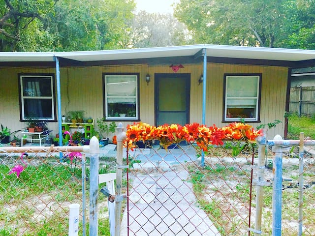 Guest room for rent/cute house! - Tarpon Springs - Bed & Breakfast