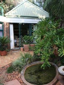Private garden suite