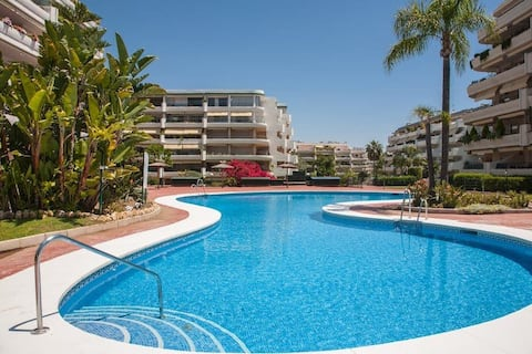 Apartment in Marbella next to golf courses