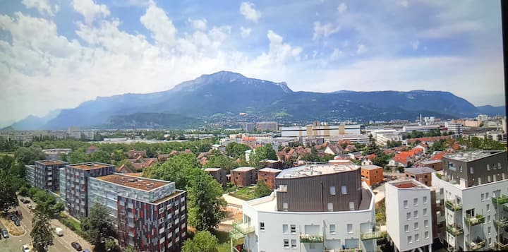 Appartement meublé 103 m2 Grenoble