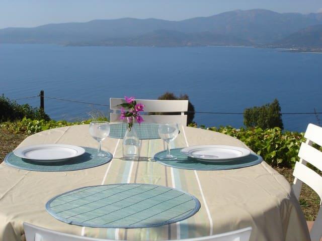 Maison avec vue sur la mer - Calcatoggio - Flat