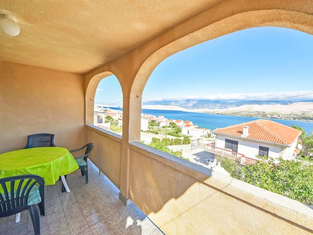 Holiday apartment Branka on the Island of Pag