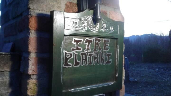 I TRE PLATANI - (camera due posti con bagno).