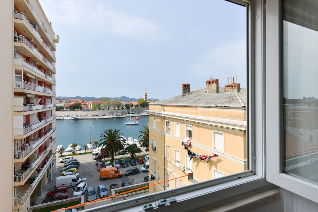 sea view studio apartment wohnungen zur miete in zadar. Black Bedroom Furniture Sets. Home Design Ideas