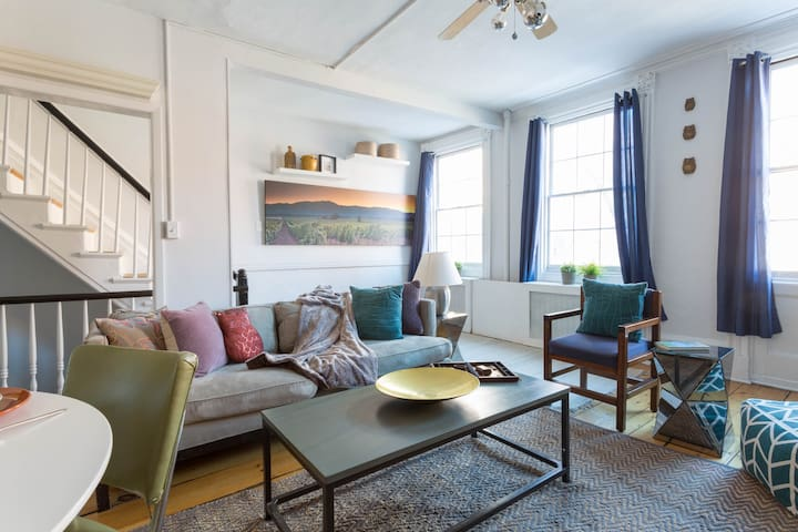 (Fully-Serviced) Charming West Village 3Bd Home - New York - Casa
