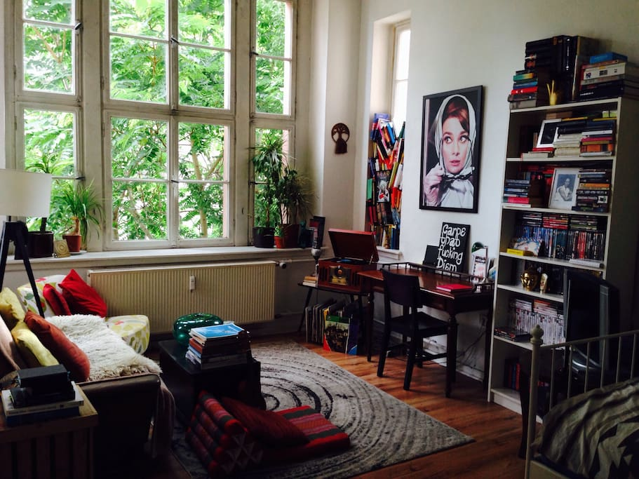 sch ne 1 zi altbauwohnung k che flats for rent in mainz rp germany. Black Bedroom Furniture Sets. Home Design Ideas