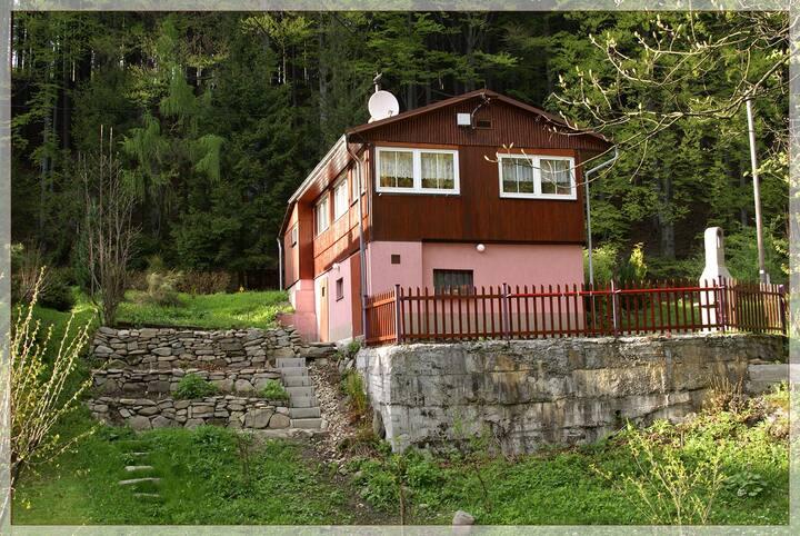 Krásná chata v Krásné
