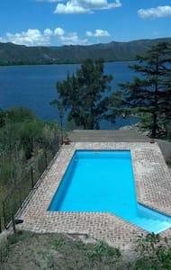 Casa con Pileta Grande y Bajada al Lago - Villa Parque Síquiman - Casa