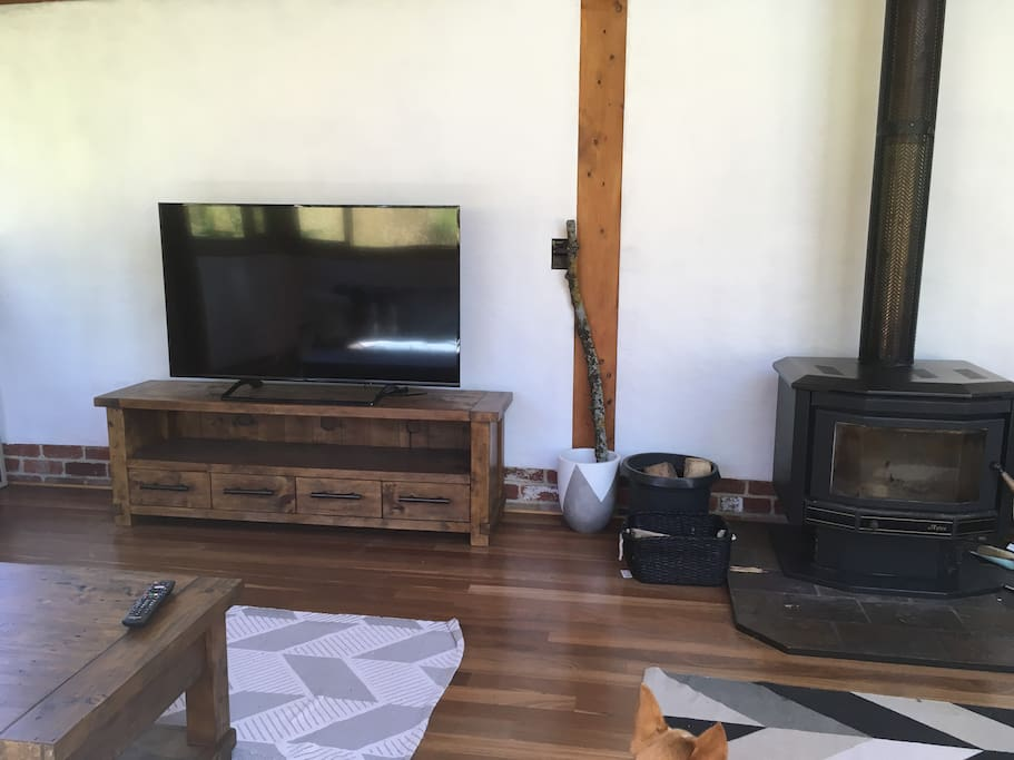 60 inch flat screen Television with wifi connection