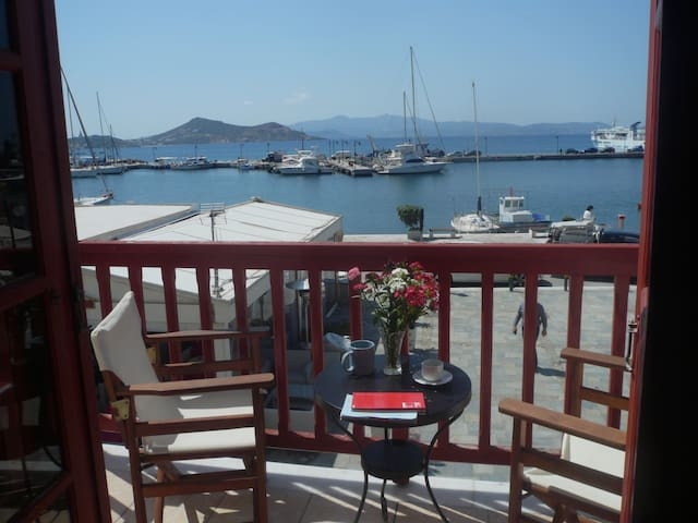 Best located Naxos old town apt