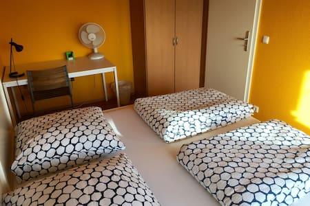 Nice room w. balcony in Frankfurt  - Francoforte - Appartamento