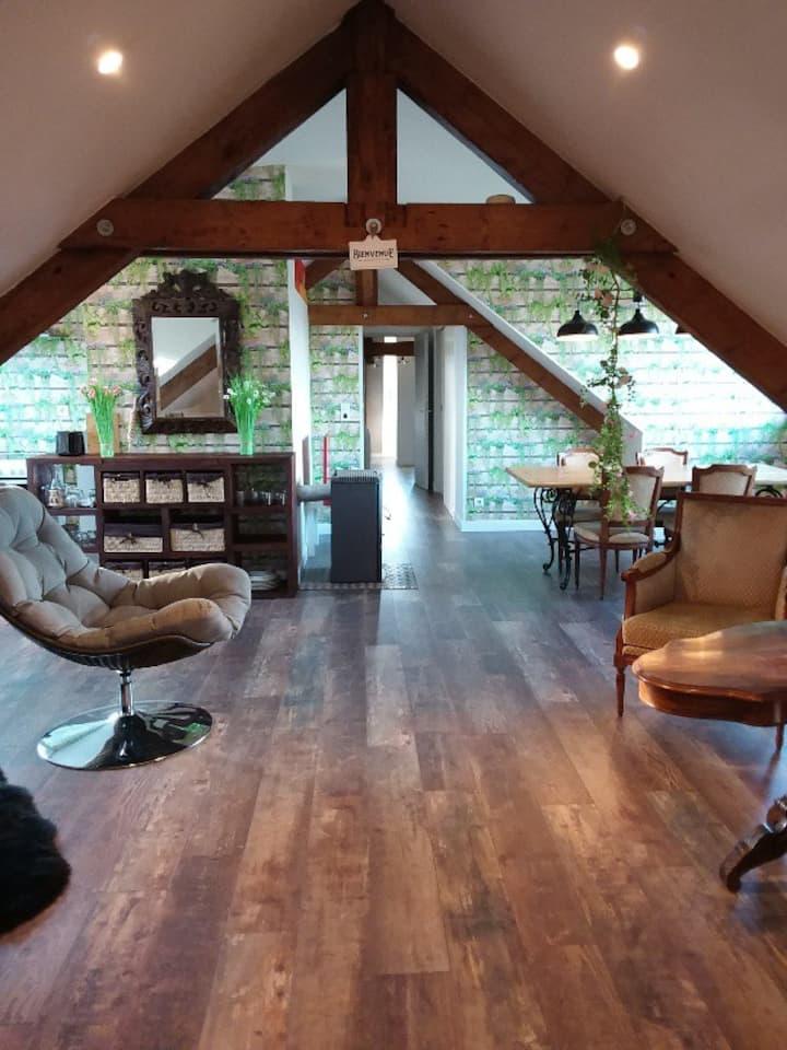 Appartement lumineux, calme et panoramique !!