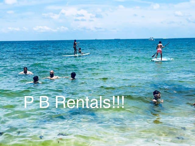 Paddleboard Rentals at the beach