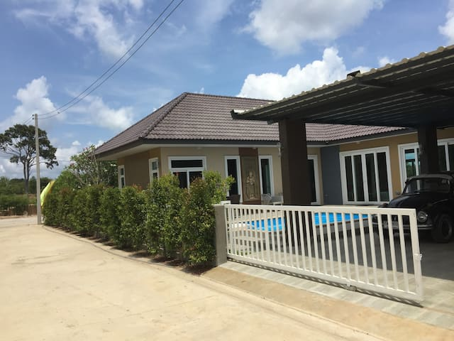 Ban Phe - Private high standard home with pool..!! - Tambon Phe - House