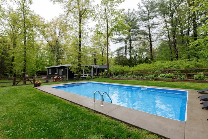 Mid Century Mod * Walk to Rail Trail/Town * POOL