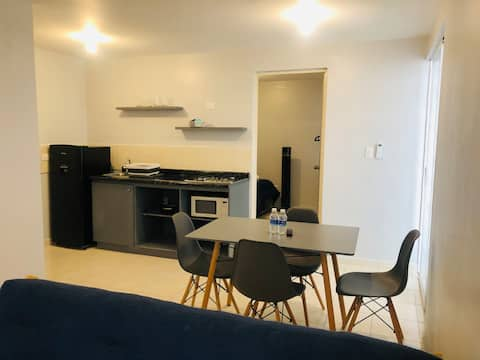 Cozy and comfy close to Mty International Airport.