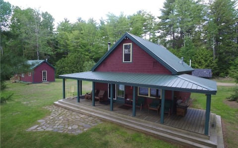 Beautiful and Quiet Secluded Maine Lake Home(s)