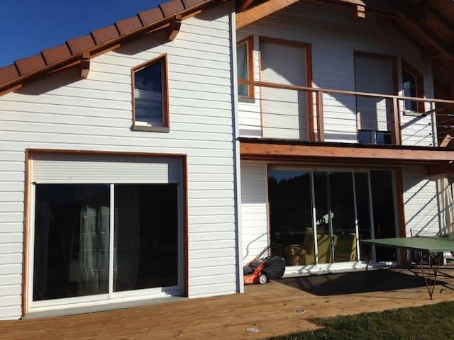 Jardin, calme, vue chambre maison d'architecte - Gap - House