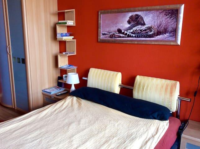 Nice bedroom with amazing view