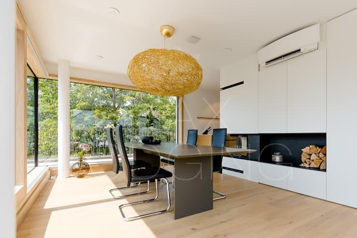 Neubau Penthouse 210 m² mit Dachterrasse