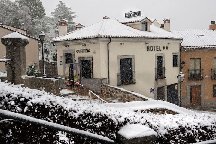 Habitación doble en Hotel Céntrico en Ávila