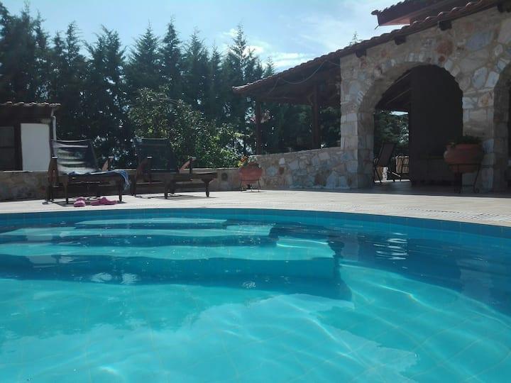 KAVALA VIlla with pool in Zigos Kavalas