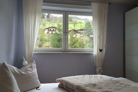 """Sehr gemütliche Ferienwohnung """"Meike"""" mit Terrasse - Brixen im Thale - 公寓"""