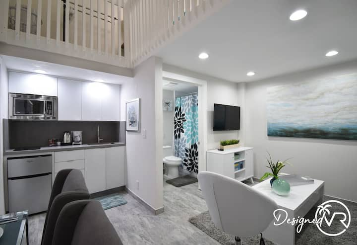 STEPS FROM THE OCEAN TRENDY DESIGNER LOFT UNIT # 6