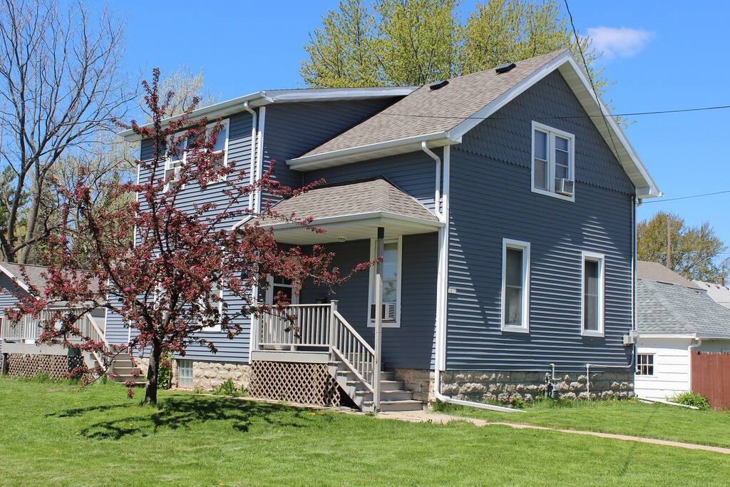 Built in 1874. Most recent updates: new garage, patio, siding, and roof.