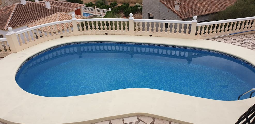 Mountain Villa sleeps 6, Costa Blanca