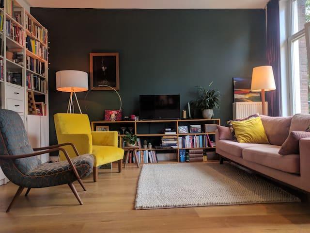 comfortable booklover apartment