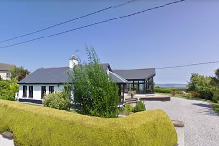 Views of Rosslare Strand & harbour T/room