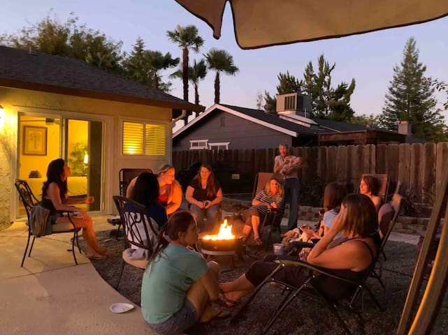 The Pineapple House *Best Reviews* *Warm Fire Pit*