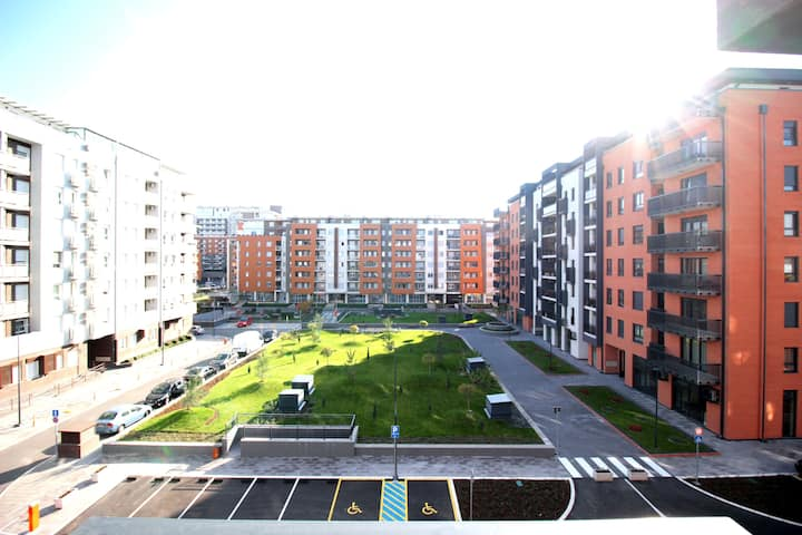 Apartment Delta City Stepenice New Belgrade A Blok
