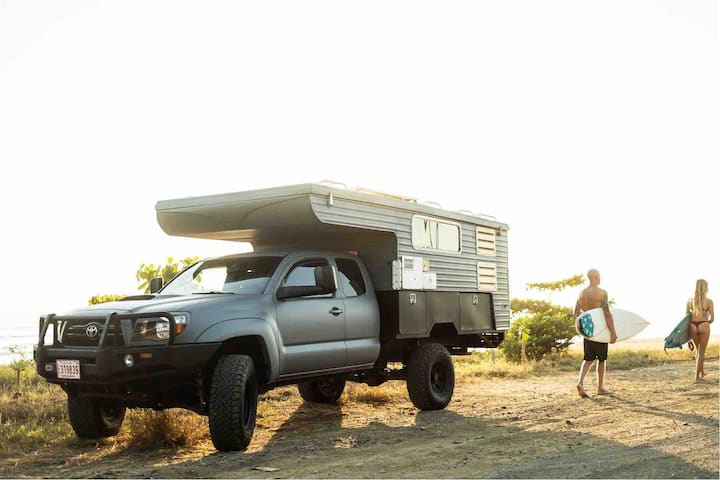 The Urchin, a 4x4 Camper, RV, Adventure with AC