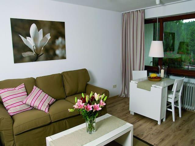 Appartements Am Herrenberg, (Eisenbach), 3-Zimmer-Appartement, 110qm, 2 Schlafzimmer, max. 9 Personen