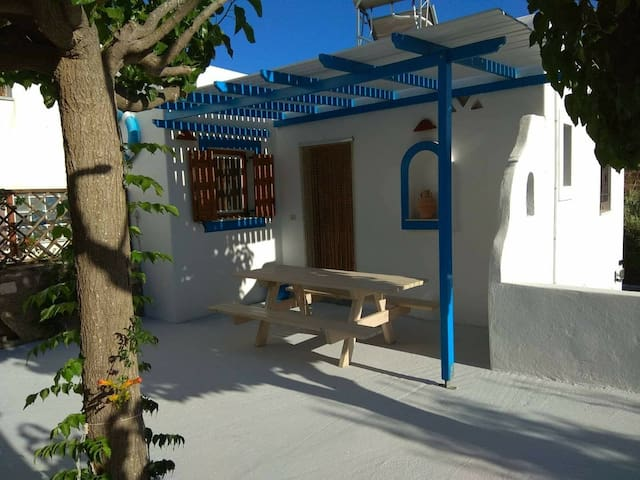 House 120 meters from the beach