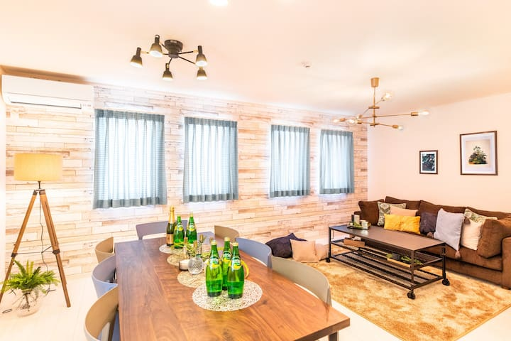 3min to Sea/Natural & Cozy Stay with Sunny Terrace