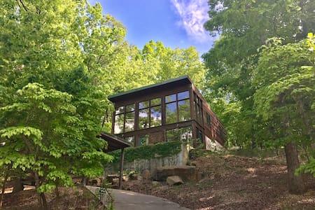 Modern White Oak Cabin