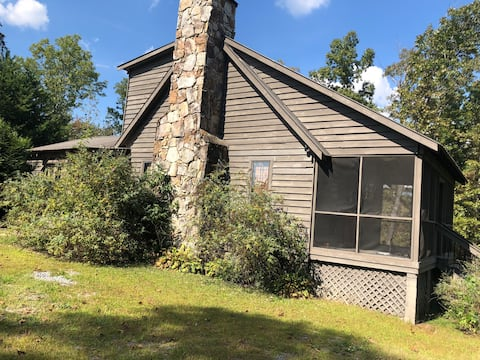 "Cozy mountain cabin ""Woodhaven"""