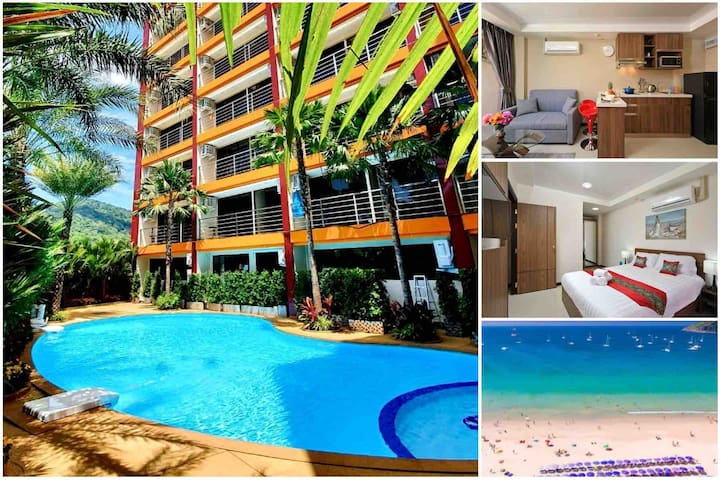 Naiharn Beach - One Bedroom Condo on the 6th Floor