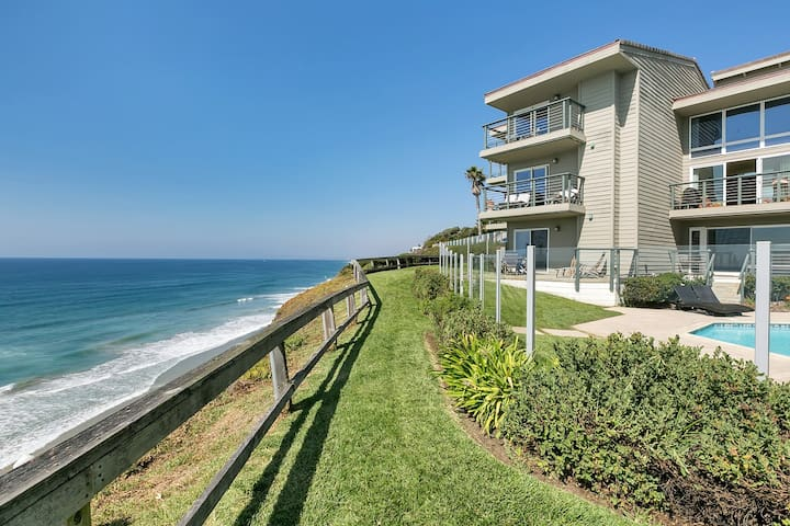Ocean Front Paradise in Downtown Encinitas