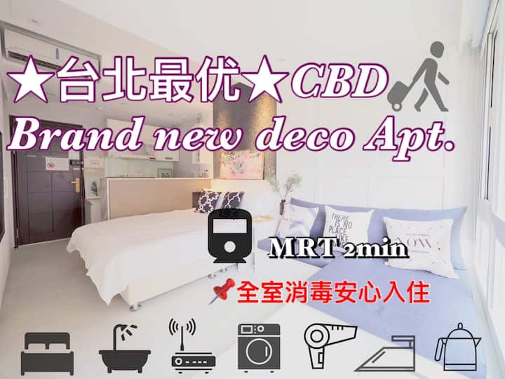 CBD Brand new deco Apt in east zone.