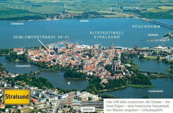 Couchsurfing im Herzen der Altstadt - Stralsund stralsund  - Leilighet