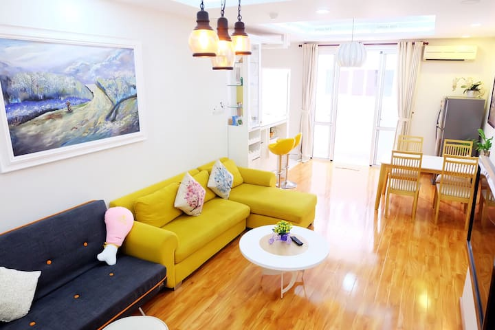 Beautiful Apt 2BR 2WC Central D1 Free Sim 3G all - Ho Chi Minh City - Flat
