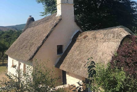 Enchanting 18th century thatched cottage & hot tub