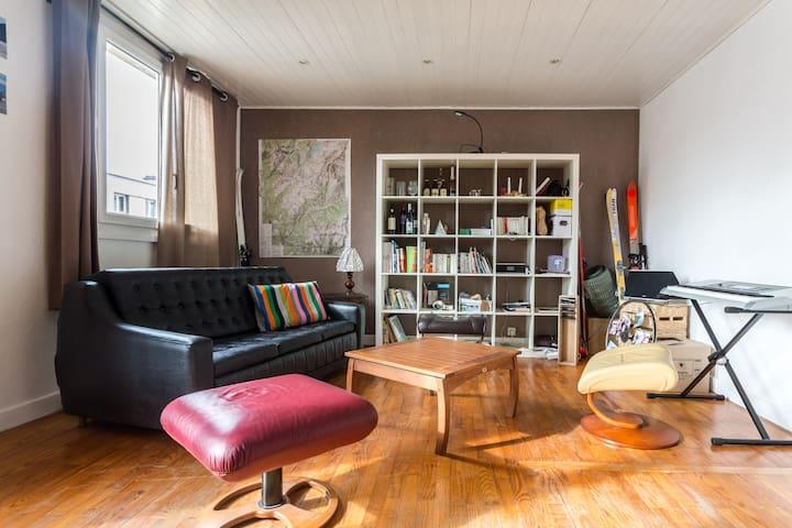 Chambre privée Grenoble (Proche Stade des Alpes) - Grenoble - Apartmen